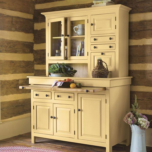 Southern Pine Hoosier Cupboard American Country