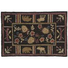 Night Moose Rug