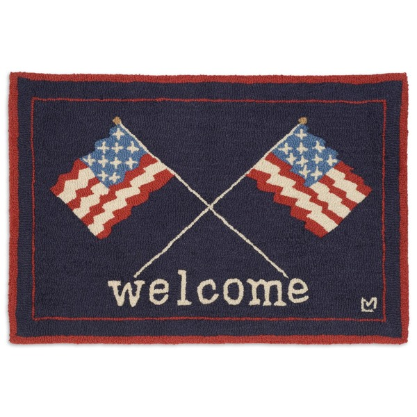Welcome Flags Rug