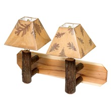 More about the 'Hickory Wall Sconce - Double' product