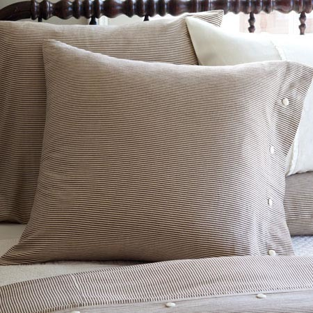 French Country Stripe Euro Pillowcase