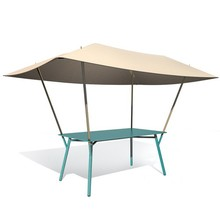 Tablabri table with canvas