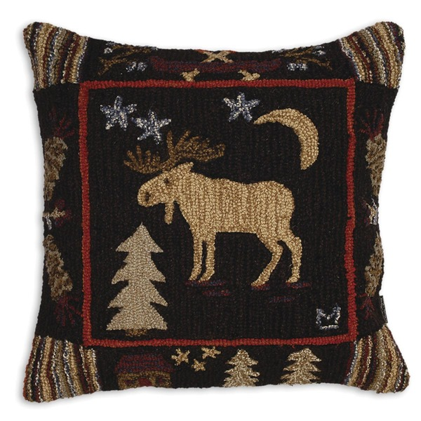 Night Moose Pillow (large)