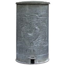 More about the 'Metal Rooster Trash Bin' product