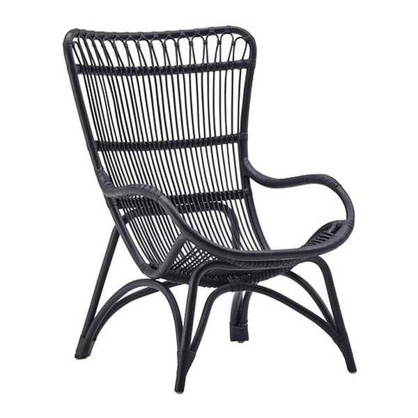 Monet Chair by Sika in Matte Black