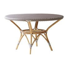 Danielle Dining Table by Sika with Glass Top