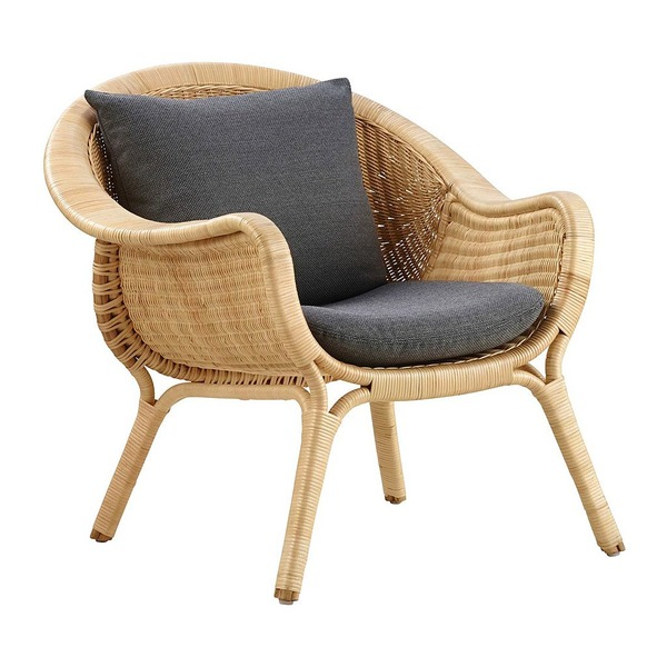 Madame Chair by Sika with Cushion