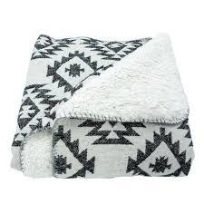 Southwestern Throw Black