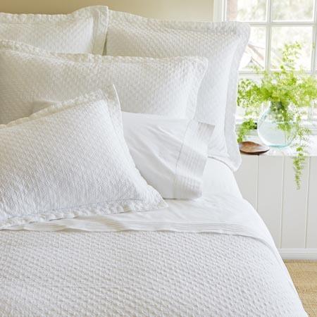 Jasper White Matelasse Quilt by Taylor Linens | American Country : white matelasse quilt - Adamdwight.com