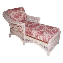 Wicker Chaise