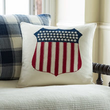 947beec65062 Liberty Shield Pillow by Taylor Linens