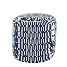 Pouf-Links Navy