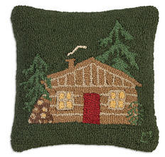 Little Cabin Pillow by Chandler 4 Corners