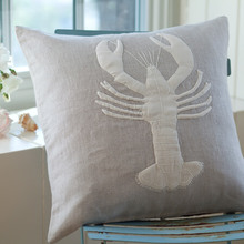 lobster natural pillow