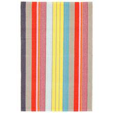 Lyric Stripe Woven Cotton Rug