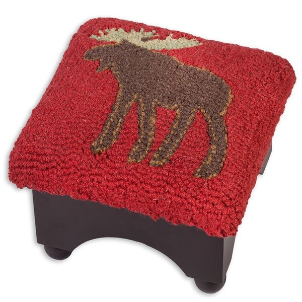 Moose foot stool