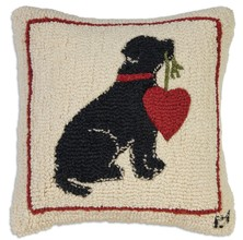 Heart On A String Pillow