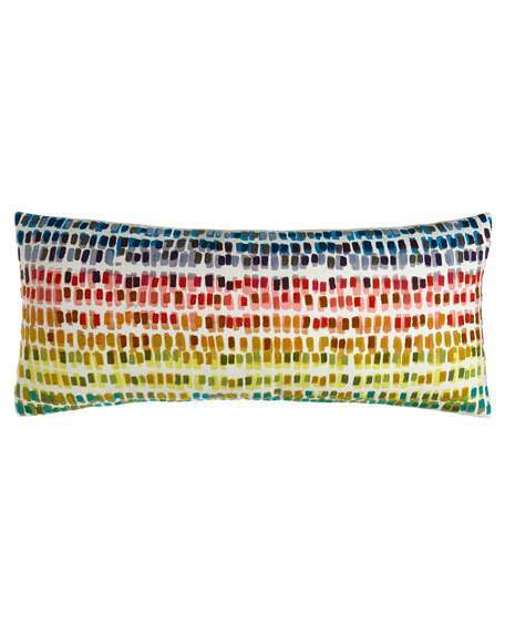 Paint Chip Double Boudoir Pillow