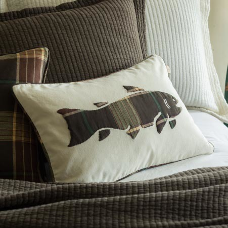 Roanoke Pillow by Taylor Linens