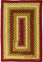 Santa Fe Sunrise Cotton Braided Rug