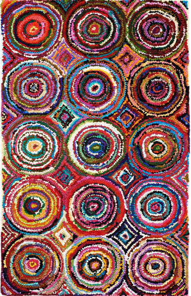 Tangier Reclaimed Hooked Rug