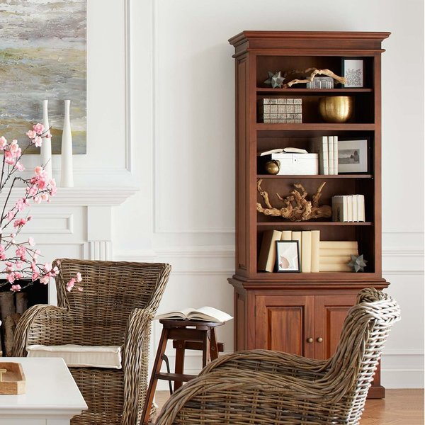 Toscana single bay hutch - in room setting