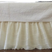 More about the 'Taylor Linens Tucked Cream Bed Skirt' product
