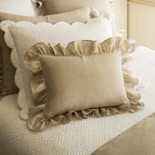 Verandah Natural Boudoir Pillow