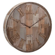 More about the 'Wine Barrel Wood Wall Clock' product