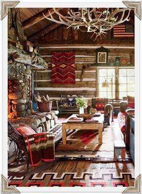 View post titled 8 Styles of Log Cabin Decorating (part 2)